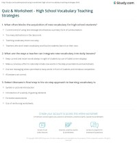worksheet. Vocabulary Worksheets Middle School. Worksheet ...