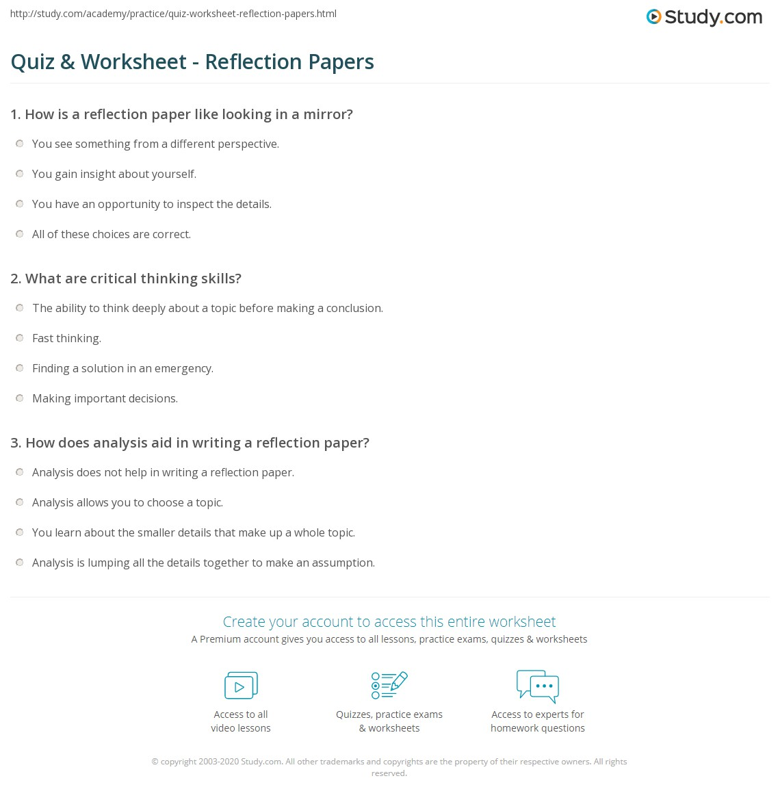 reflections on research papers Reflection in research paper - get the needed coursework here and forget about your worries proofreading and editing help from best professionals start working on.