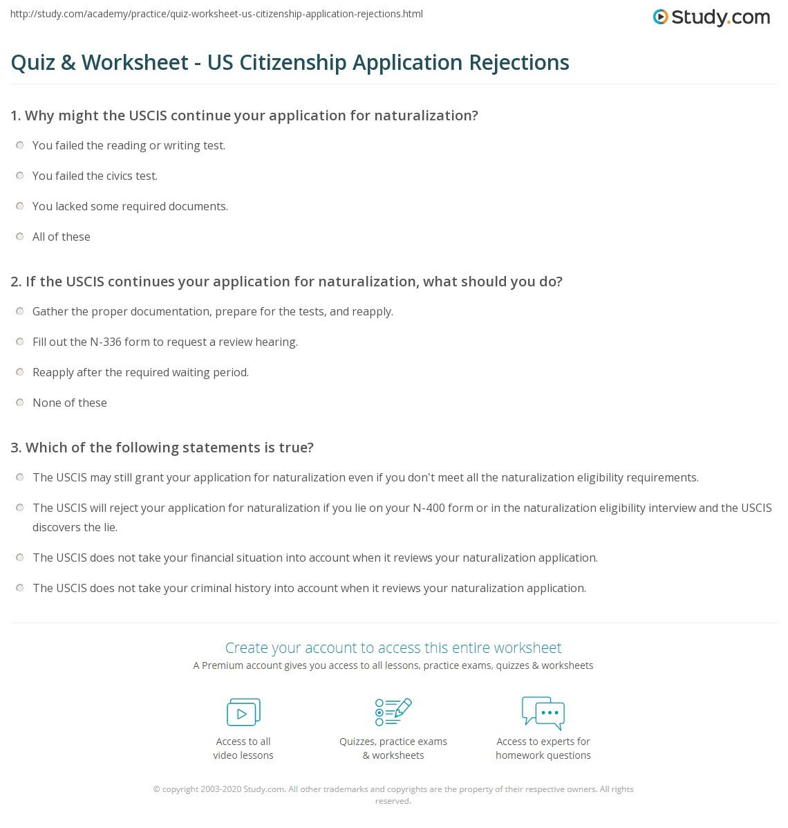 Document Checklist For N 400 Us Citizenship Application Us Citizenship Application Form N 400