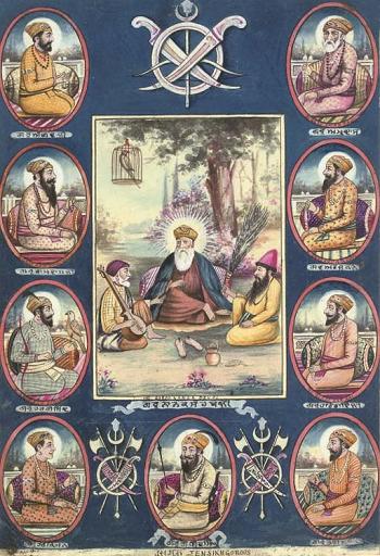 Guru Nanak Dev Ji Hd Wallpaper 10 Gurus Of Sikh Names Teachings History Study Com