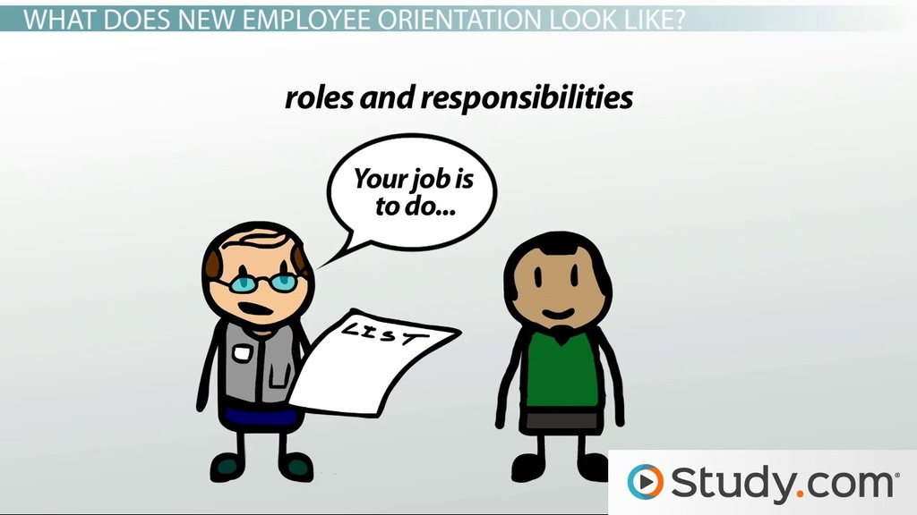 New Employee Orientation Function  Characteristics - Video - characteristics of great employees