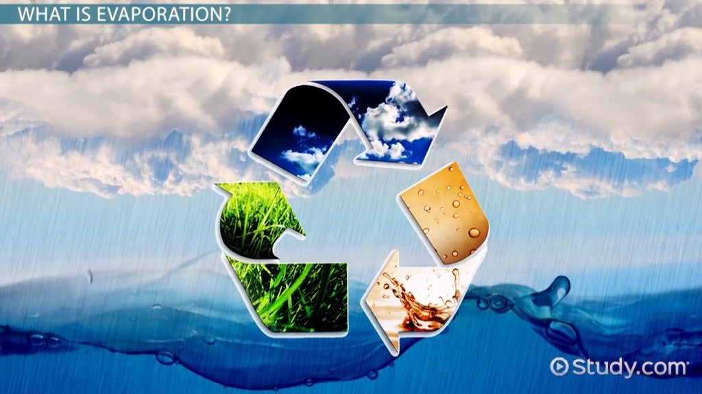 What is Evaporation? - Definition  Examples - Video  Lesson