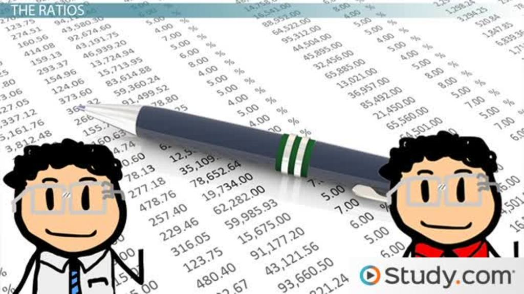 Financial Statement Ratios Determining Company Performance - Video - financial statement
