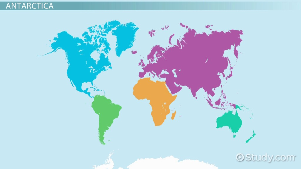 The World Map Overview  Major Geographical Regions - Video - best of locate places on world map game