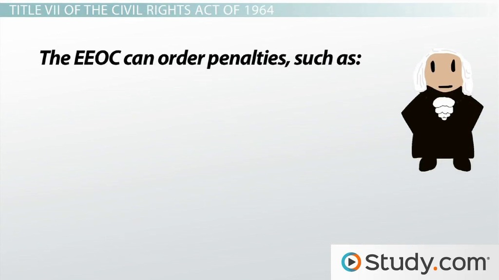 Employment Discrimination Definition and Laws - Video  Lesson