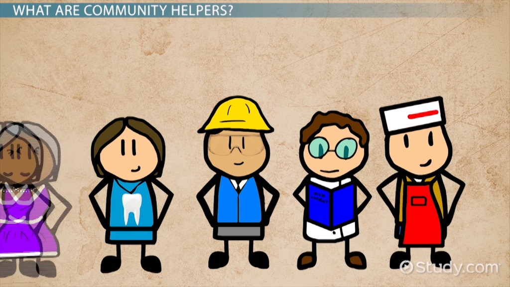 Community Helpers For Preschool Video Lesson