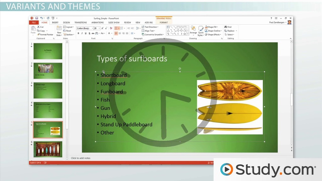 How to Create a Blank PowerPoint Presentation - Video  Lesson - create power point