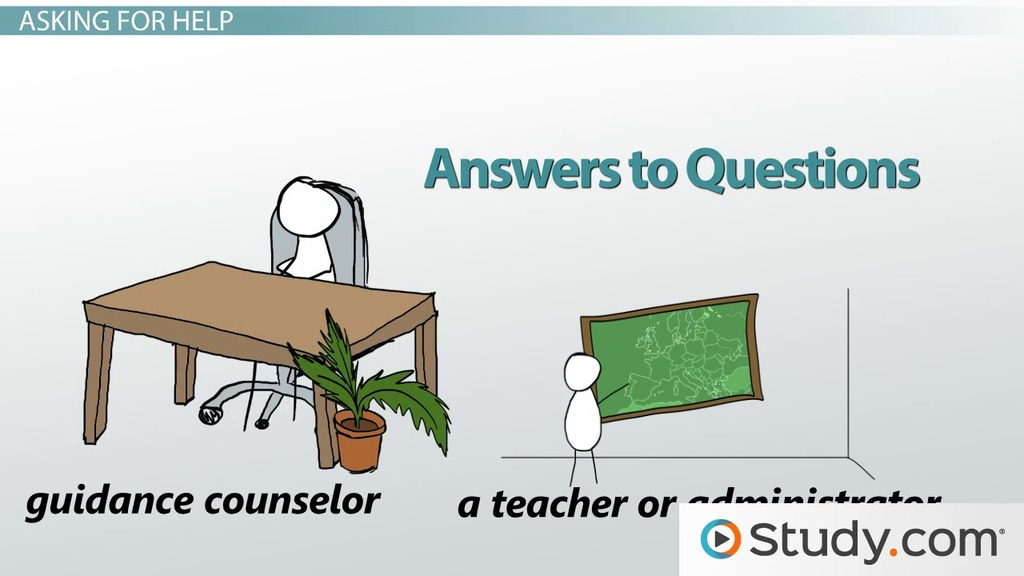 How to Navigate the College Application Process - Video  Lesson - guidance counselor interview questions and answers