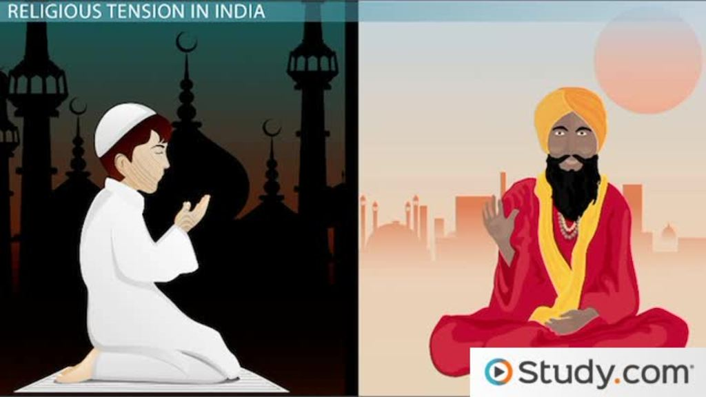 Muslim and Hindu Conflict in India and the Partition of India and