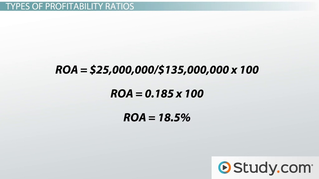 Profitability Ratio Definition, Formula, Analysis  Example - Video - working capital equation