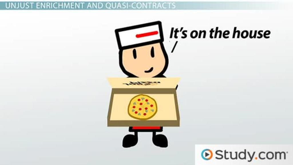 Quasi-Contract Definition  Examples - Video  Lesson Transcript