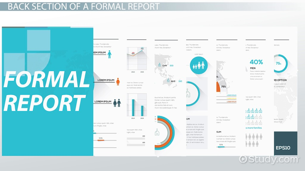 The Three Main Components of Formal Reports - Video  Lesson - formal reports samples