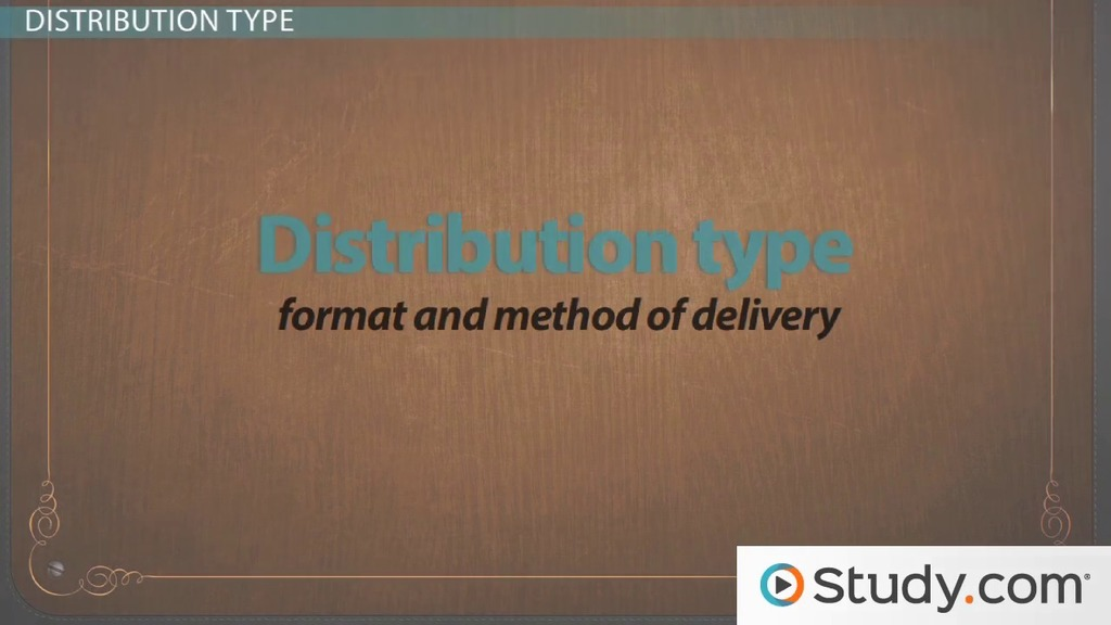 Formatting Your Resume Layout  Distribution Types - Video  Lesson