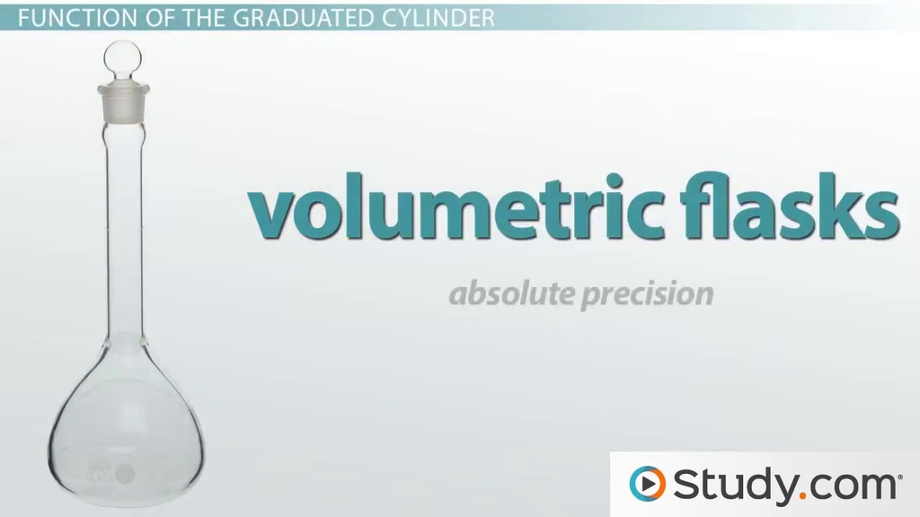What Is a Graduated Cylinder? - Definition, Uses  Function - Video - tools to measure volume