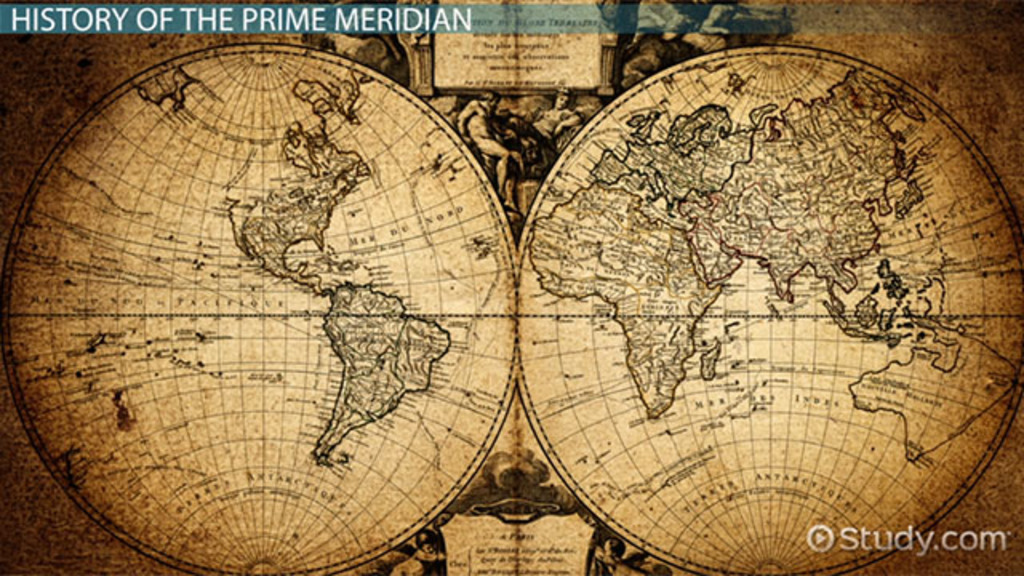What is the Prime Meridian? - Definition, Facts  Location - Video - best of locate places on world map game