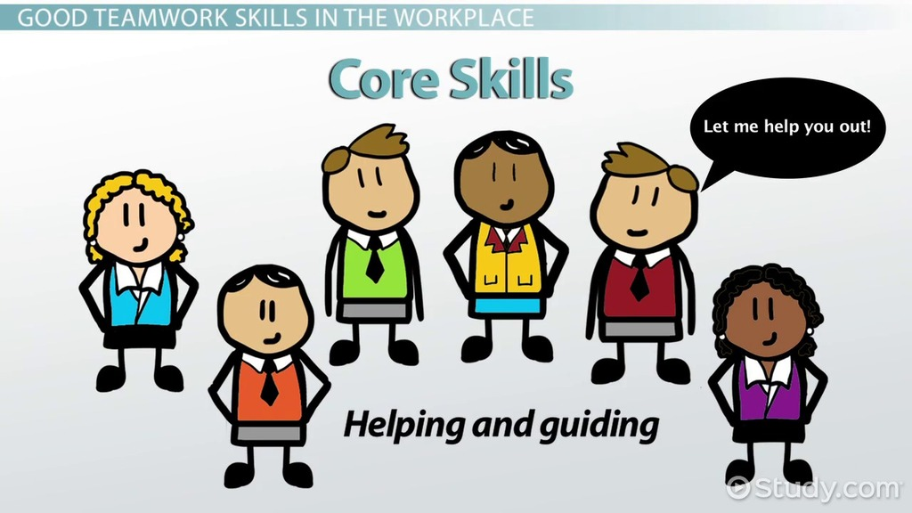 Teamwork Skills in the Workplace Definition  Examples - Video