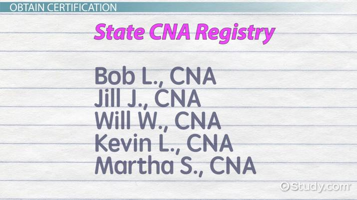 Certified Nursing Assistant How to Become a Nurse Assistant - why do you want to be a cna