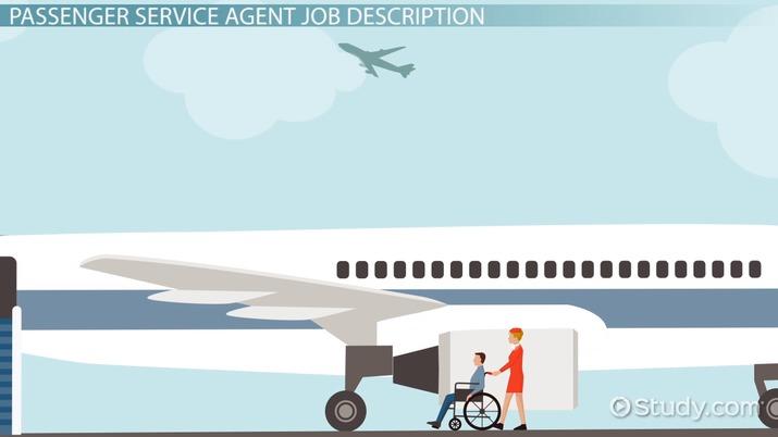 Passenger Service Agent Job Description, Outlook and Salary