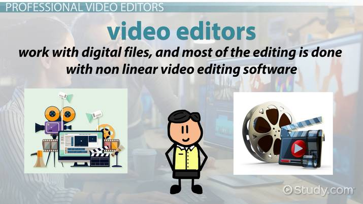 Become a Professional Video Editor Education and Career Roadmap