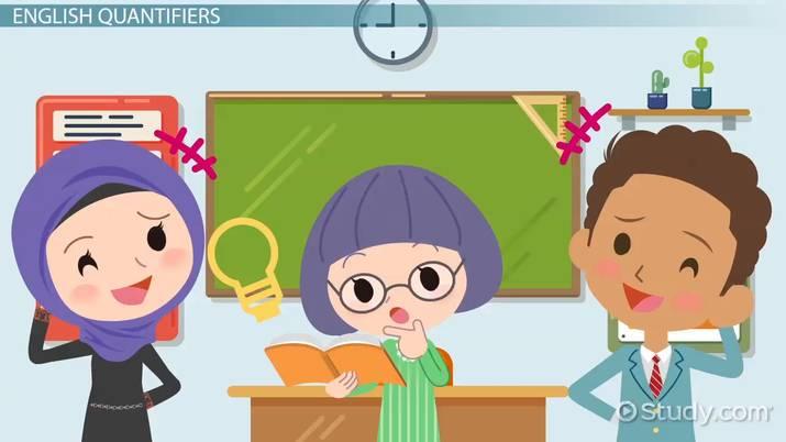 ESL Quantifiers Games  Activities - Video  Lesson Transcript