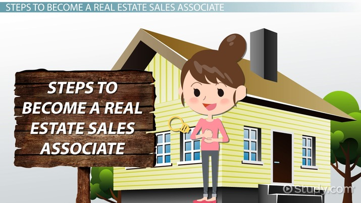 How to Become a Real Estate Sales Associate - sales associate