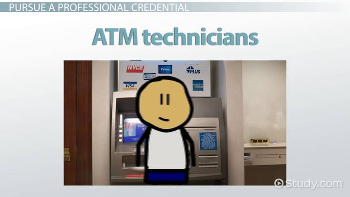 Be an ATM Technician Career Overview and Training Requirements