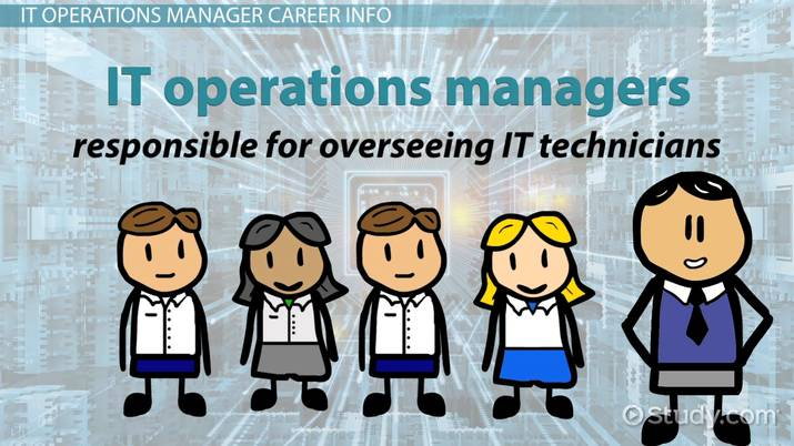 How to Become an IT Operations Manager - it operation manager job description