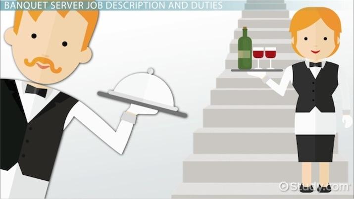 Banquet Server Job Description, Duties and Requirements