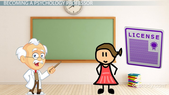 Be a Psychology Professor Career Information and Requirements