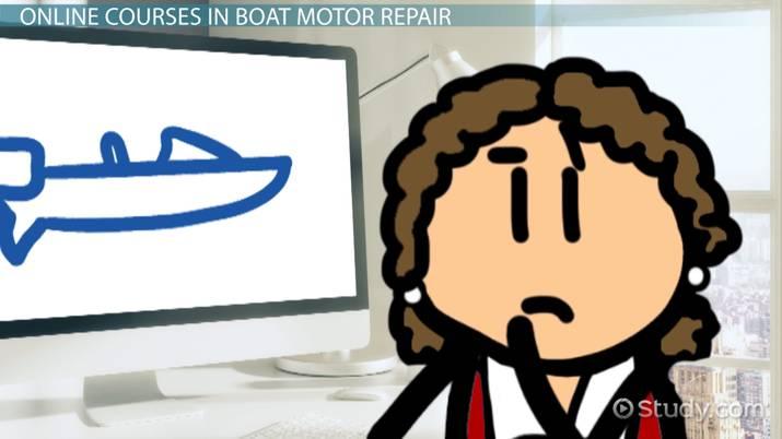 Online Boat Motor Repair Classes and Courses