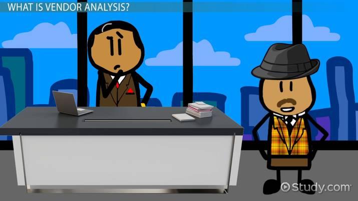 Vendor Analysis Definition  Process - Video  Lesson Transcript