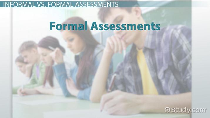 Informal Assessments in the Classroom Examples  Types - Video
