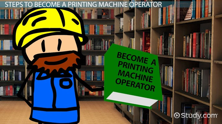 How to Become a Printing Machine Operator Career Guide