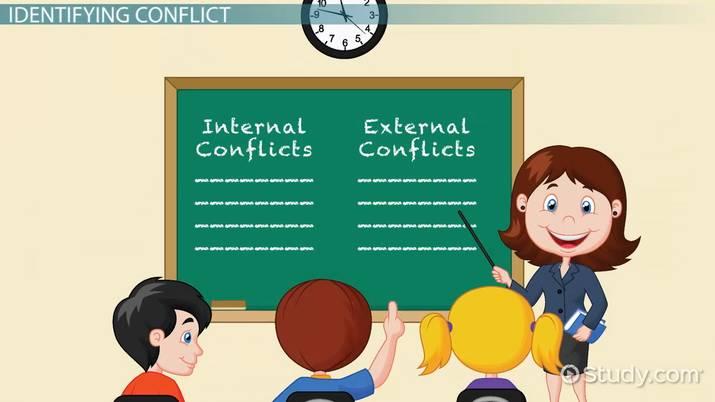 Teaching Conflict in Literature - Video  Lesson Transcript Study