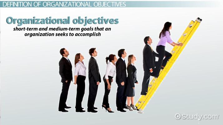 Organizational Objectives Definition  Examples - Video  Lesson