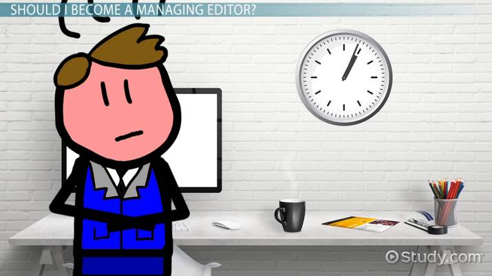 Become a Managing Editor Education and Career Requirements