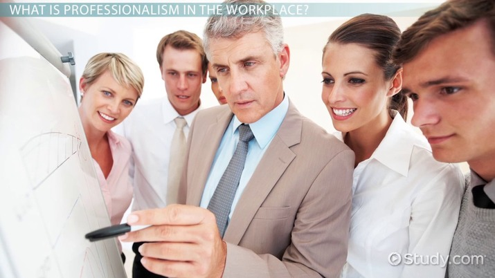 Professionalism in the Workplace Definition  Maintenance - Video