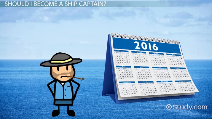 Become a Ship Captain Education Requirements and Career Overview
