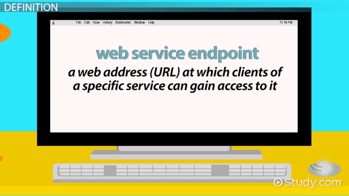 What is Web Service Endpoint? - Definition  Concept - Video