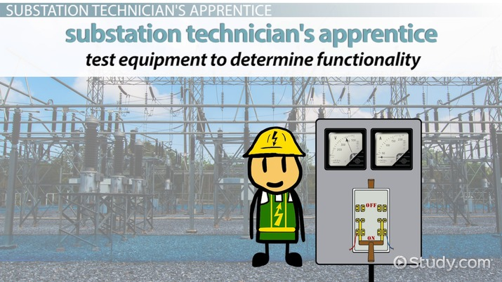 Be a Substation Technician\u0027s Apprentice Training Info and Requirements - substation apprentice sample resume