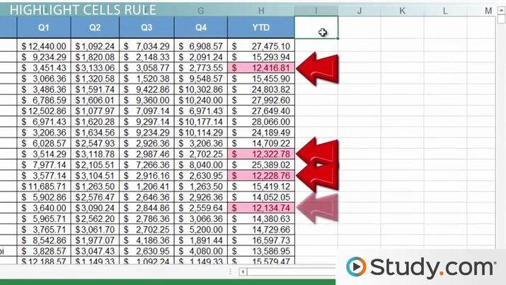 Conditional Formatting in Excel Applying  Modifying Formatting