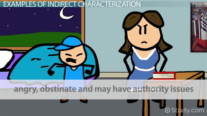 Indirect Characterization Definition  Examples - Video  Lesson