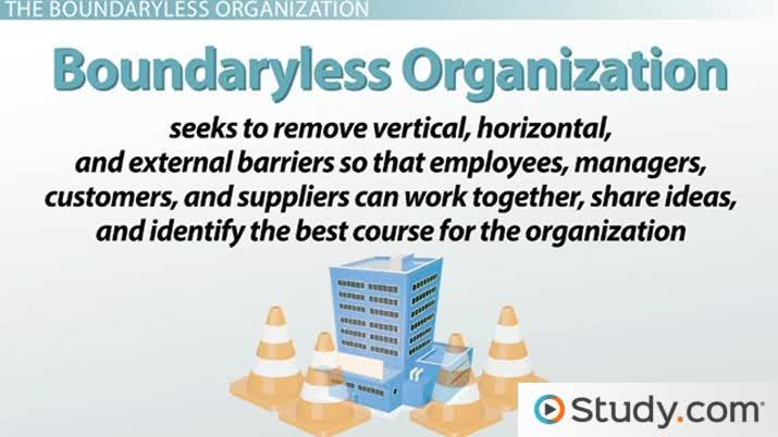 The Boundaryless Organization Structure and Advantages