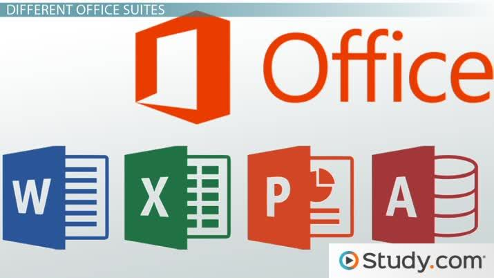 Microsoft Office and Open Office Office Suite Applications - Video