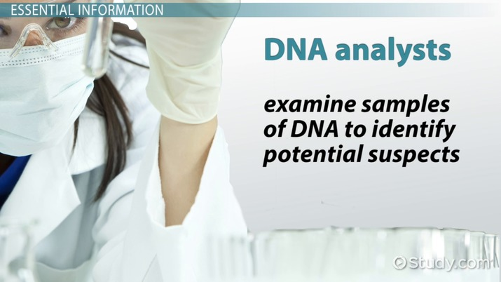 DNA Analyst Job Description, Duties and Requirements - dna analyst sample resume