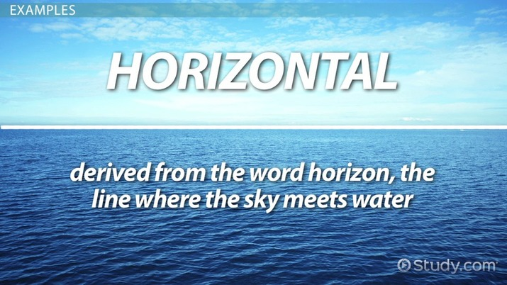 What are Horizontal Lines? - Definition  Equations - Video  Lesson