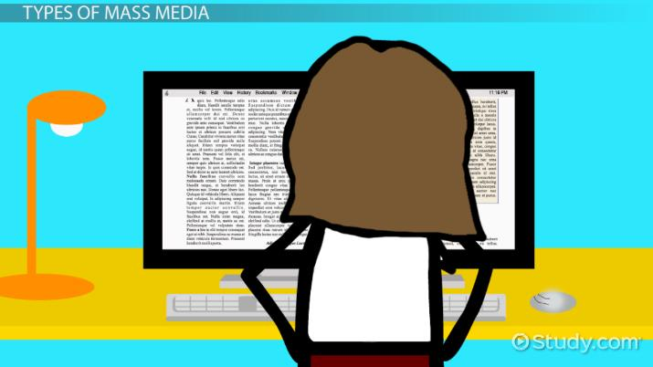 What Is Mass Media? - Definition, Types, Influence  Examples