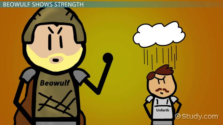 Beowulf Strength Quotes Examples  Analysis - Video  Lesson