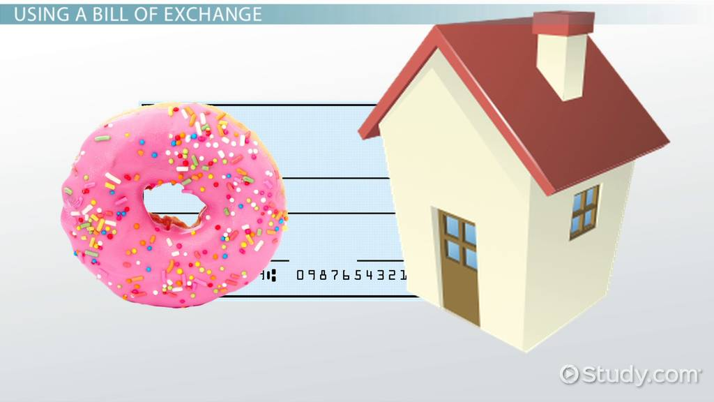 What Is a Bill of Exchange? - Definition  Sample - Video  Lesson - bill of exchange sample