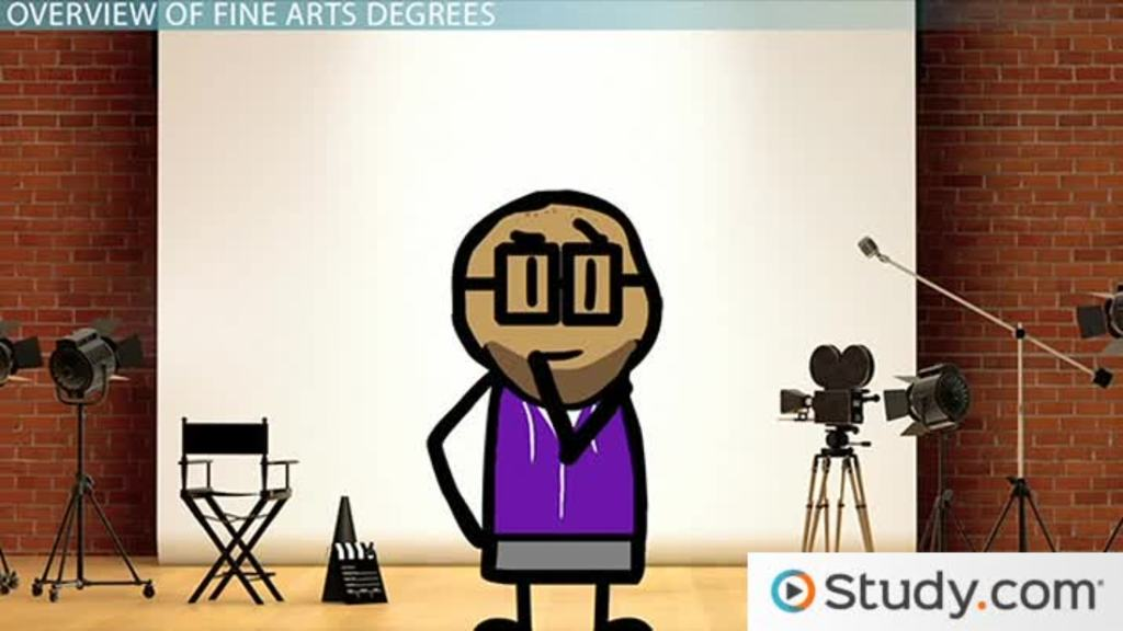 What Can I Do with a Fine Arts Degree? - Typical Courses  Careers